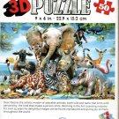 African Smile - Super 3D 50 Pieces Jigsaw Puzzle