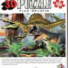 Carnotaurus - Super 3D 50 Pieces Jigsaw Puzzle