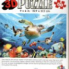 Journey of The Sea Turtle - Super 3D 50 Pieces Jigsaw Puzzle