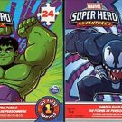 Marvel Super Hero - Adventures - 24 Pieces Jigsaw Puzzle (Set of 2)