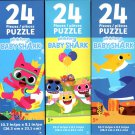 Pinkfong Baby Shark - 24 Pieces Jigsaw Puzzle (Set of 3)