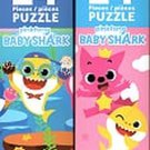 Pinkfong Baby Shark - 24 Pieces Jigsaw Puzzle (Set of 2)