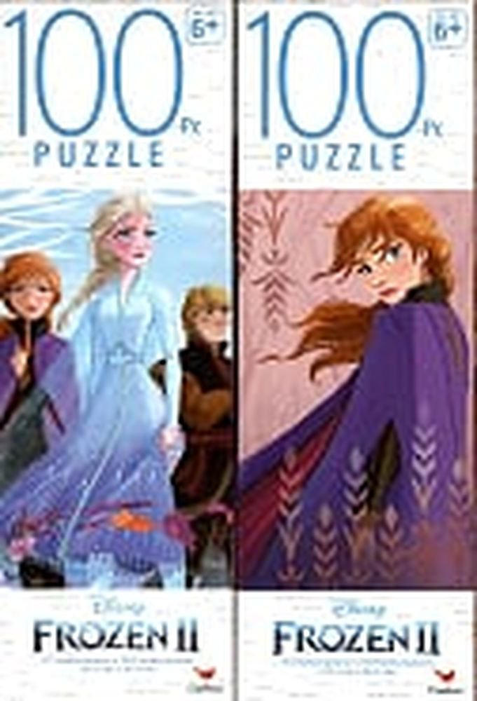 Disney Frozen 2 - 100 Pieces Jigsaw Puzzle (Set of 2)