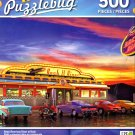 Retro American Diner at Duck - 500 Pieces Jigsaw Puzzle