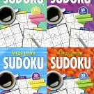 Large Print Sudoku Puzzle - Easy - Medium - Expert - All New Puzzles - Vol.15 - 18 (Set of 4 books)