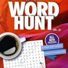Large Print Word Hunt - All New Puzzles - Sharpen Your Memory, Boost Your Brain - Vol. 35