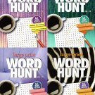 Large Print Word Hunt - All New Puzzles - Sharpen Your Memory, Boost Your Brain - Vol. 77 - 80