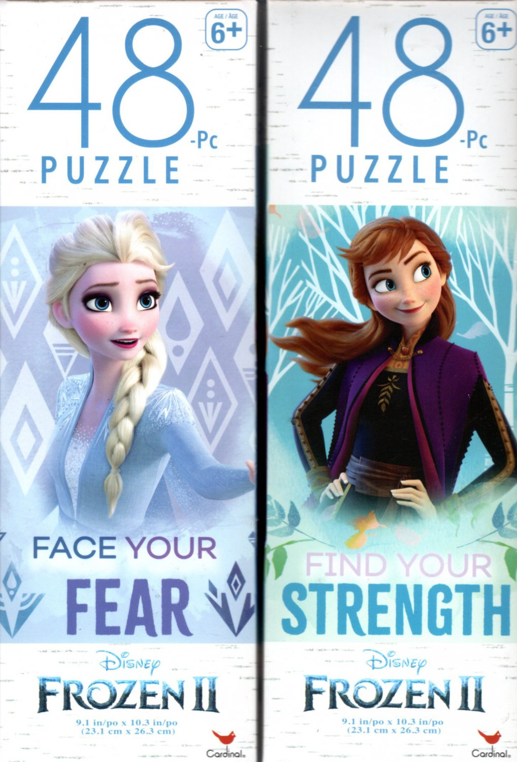 Disney Froze II - 48 Pieces Jigsaw Puzzle - v1 (Set of 2)