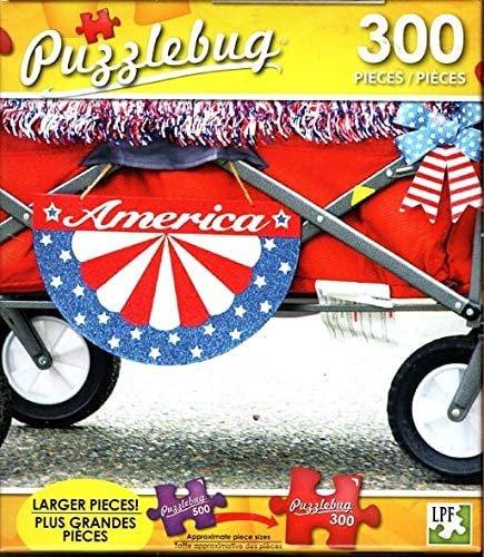 Parade Wagon - 300 Pieces Jigsaw Puzzle