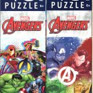 Marvel Avengers - 48 Pieces Jigsaw Puzzle - (Set of 2)