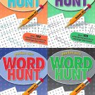 Word Hunt - All New Puzzles - (Pocket Size) - Vol. 49-52 (Set of 4 Books)
