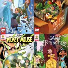 Disney - Frozen, Toy Story, Princess, MIckey Mouse - Comics Book - Issue 3 (Set of 4)