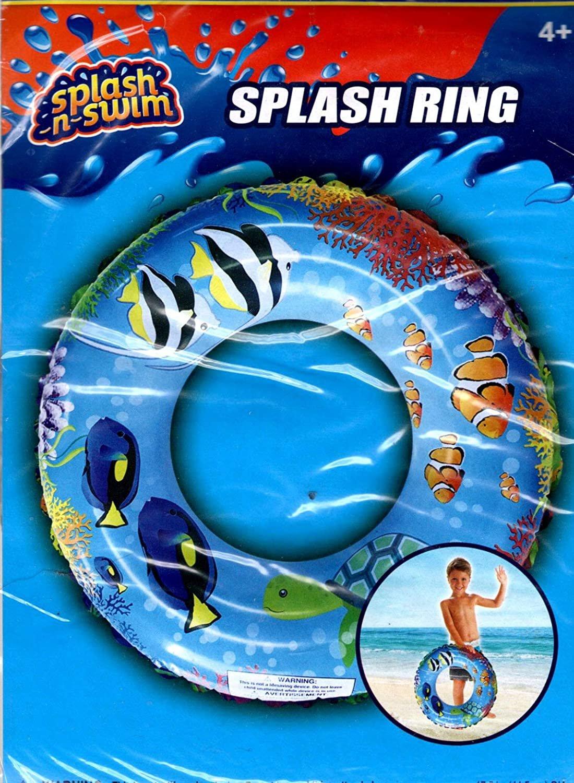 """Splash-N-Swim - 17.5"""" Swim Ring - Swim Time Fun! - Swimming Ring -v16"""