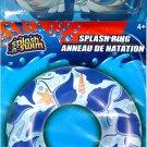 "Splash-N-Swim - 26.5"" Swimming Ring + Swim Goggles - Swim Time Fun! (2 Pack) -v6"