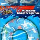 "Splash-N-Swim - 26.5"" Swimming Ring + Swim Goggles - Swim Time Fun! (2 Pack) -v7"