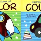 My First Book of Color - Coloring Book - v1 (Set of 2)