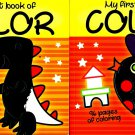 My First Book of Color - Coloring Book - v2 (Set of 2)