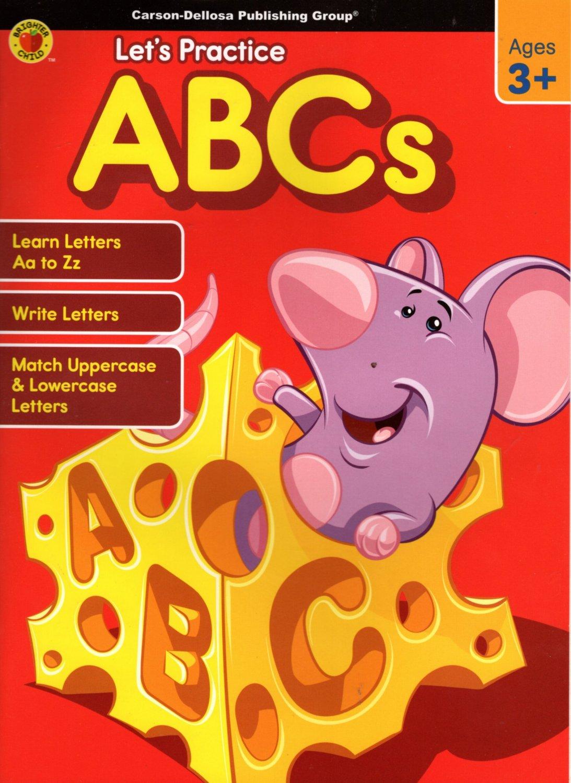 let's Practice ABCs - Educational Workbooks