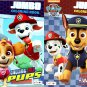 Paw Patrol - Jumbo Coloring & Activity Book - Heroes Work Together, Calling All Pups - (Set of 2)