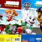 Paw Patrol - Jumbo Coloring & Activity Book - Anything is Paw Sible, Best Pups Ever - (Set of 2)