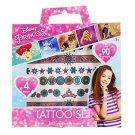 Disney Princess Tattoo Set - Over 90 Tattoos