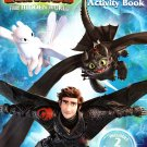 How to Train Your Dragon - Jumbo Coloring & Activity Book - The Hidden World