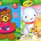 Crayola - Big Fun Book to Color - Bear Hugs & Time to Color - (Set of 2 Books)
