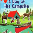 Sticker Activity Book - A Day at The Campsite - with Over 125 Stickers