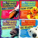 50 Things You Really Need to Know... - (Set of 4 Books)