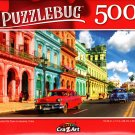 Colorful Old Town in Havana, Cuba - 500 Pieces Jigsaw Puzzle