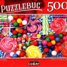 Colorful Candies - 500 Pieces Jigsaw Puzzle