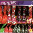 Colorful Children's Boots at Market Stall - 300 Pieces Jigsaw Puzzle