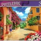 Pretty Streetin in Kefalonia, Greece - 300 Pieces Jigsaw Puzzle