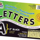 PACON CORPORATION SELF ADHESIVE LETTER 2IN BLACK (Set of 3)