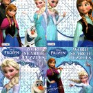 Disney Frozen - Word Search Puzzles - vol.1 - 4 (Set of 4)