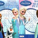 Disney Frozen - Word Search Puzzles - vol.3 - 4 (Set of 2)