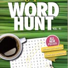 Large Print Word Hunt - All New Puzzles - Sharpen Your Memory, Boost Your Brain - Vol. 91