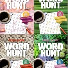 Large Print Word Hunt - All New Puzzles - Vol. 89 - 92 (Set of 4)