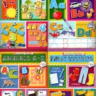 Stick-to Learning - Sticker Book - (Set of 4 Books)