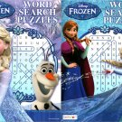 Disney Frozen - Word Search Puzzles - vol.1 - 2 (Set of 2)