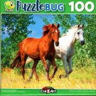 Running Horse Buddies - 100 Pieces Jigsaw Puzzle