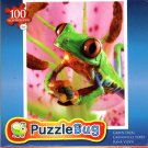 Green Frog - 100 Pieces Jigsaw Puzzle