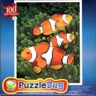 False Clown Anemonefish - 100 Pieces Jigsaw Puzzle