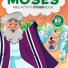 Bible Activity Moses Sticker Book Over 80 Stickers