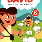 Bible Activity David Sticker Book Over 80 Stickers
