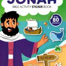 Bible Activity Jonah Sticker Book Over 80 Stickers