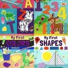 Flowerpot Press My First Sticker Book Collection - Set of 4 Books