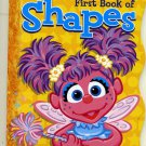 SESAME STREET Abby's First book of Shapes Book