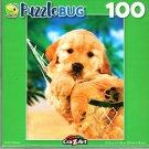 Resting Retriever - 100 Pieces Jigsaw Puzzle