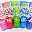 Crayola Bathtub Finger Paint Soap 5 Pack New Vibrant Colors